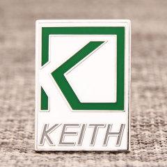 KEITH Custom Enamel Pins