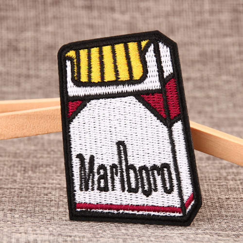 Marlboro Embroidered Patches