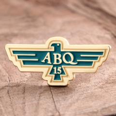 ABQ 15 custom lapel pins