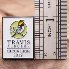 Travis Audubon Custom Pins