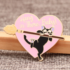 Hang in There, Baby! Custom Lapel Pins