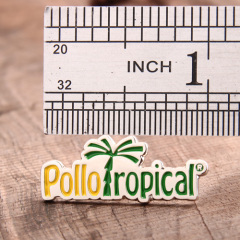 Pollo ropical lapel pins