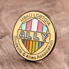 Ally custom enamel pins