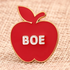 Red Apple Lapel Pins