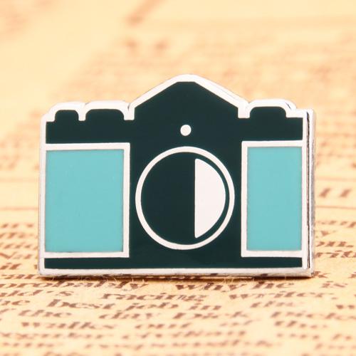 Camera Custom Enamel Pins