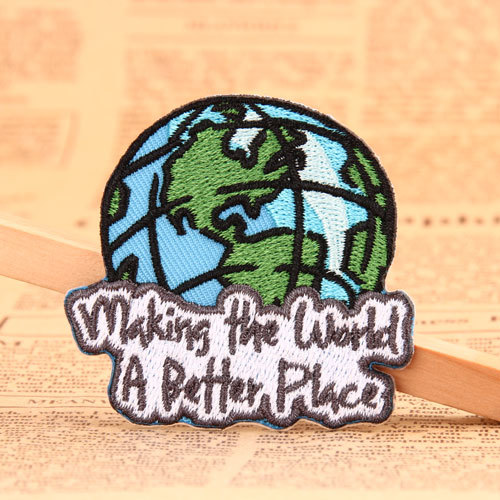 Earth Custom Made Patches