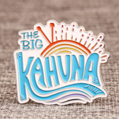 The Big Kahuna custom pins