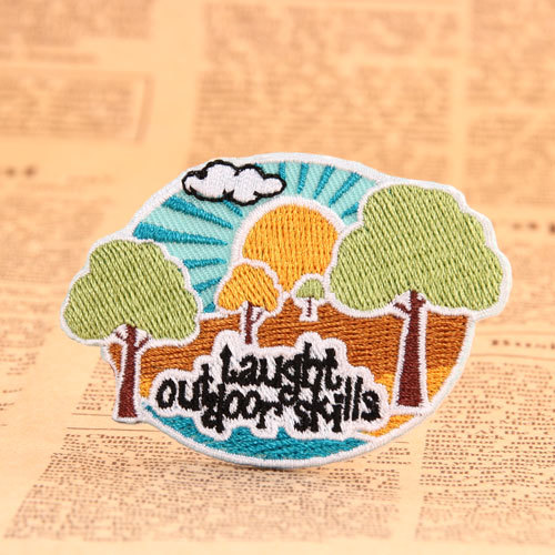 Trees Custom Made Patches
