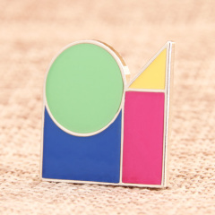 Tangram Custom Lapel Pins