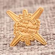 Academy custom lapel pins