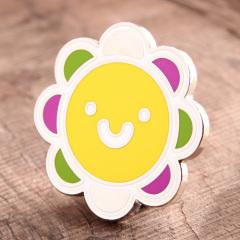 Sun Flower Lapel Pins
