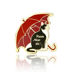 Please Adopt Me Cat Enamel Pin