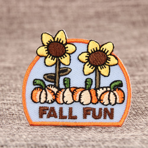 FALL FUN Embroidered Patches