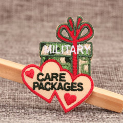 Care Packages Embroidered Patches