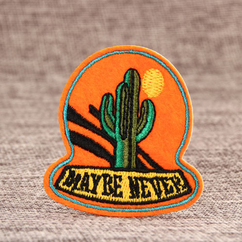 Strong Cactus Custom Patches