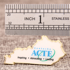 ACTE custom lapel pins