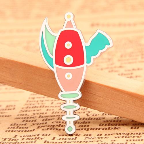 Cartoon Weapon Lapel Pins