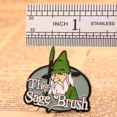 The sage brush enamel pins