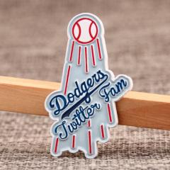 Dodgers Enamel Pins