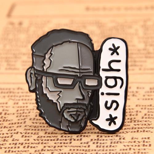 Sigh custom enamel pins