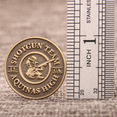 Shotgun team lapel pins