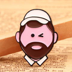 Bearded Uncle Lapel Pins