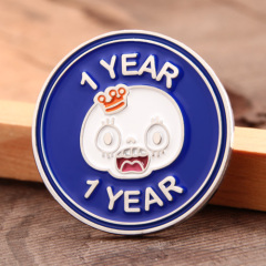 1 Year Ans Lapel Pins