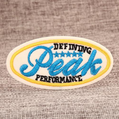 PEAK Custom Made Patches