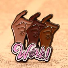 Work Custom Enamel Pins