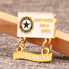 Governor Lapel Pins
