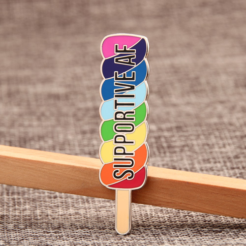 Colorful Popsicle Custom Pins