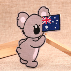 Australian Koala Custom Patches