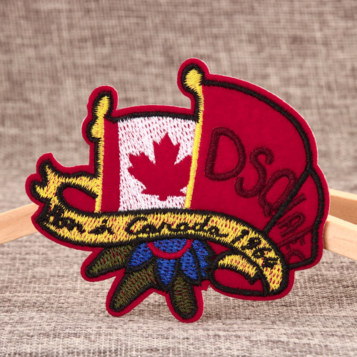 DSQ Embroidered Patches