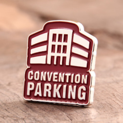 Convention Parking Custom Pins