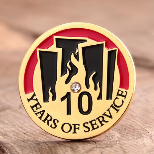 Service Reward Lapel Pins