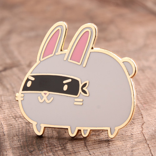 Rabbit Enamel Pins