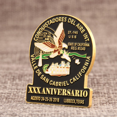 Aniversario Custom Enamel Pins