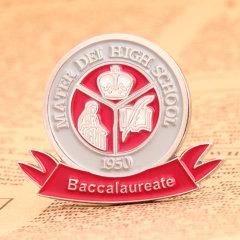 Baccalaureate Enamel Pins