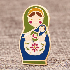 Matryoshka Doll Lapel Pins