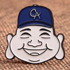 Laughing Man Custom Pins