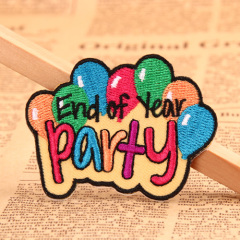 Party Custom Embroidered Patches