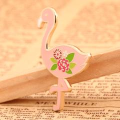 Pink Flamingo Lapel Pins