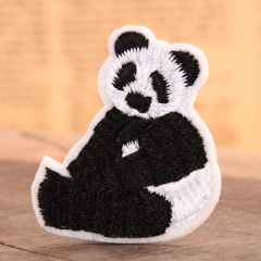 Panda Embroidered Patches