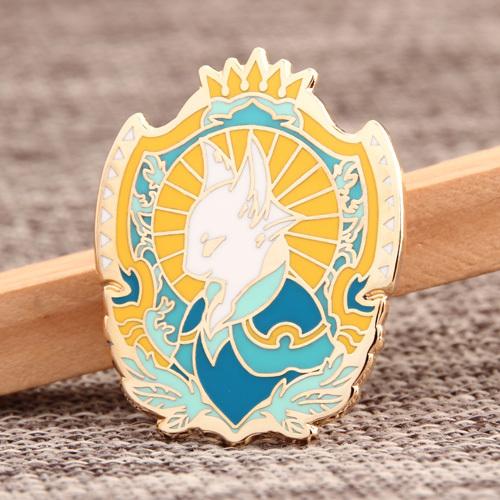 Prince Cat Custom Pins