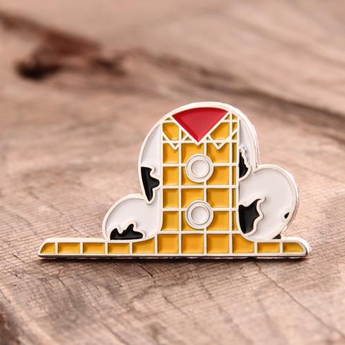 Cowboy Custom Enamel Pins