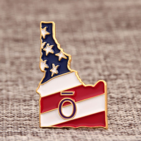 State of Idaho Custom Pins
