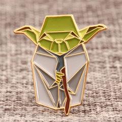 Origami Elfin Custom Enamel Pins