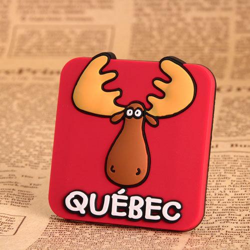 Québec Elk 3D PVC magnet