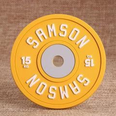 Yellow SAMSON PVC Coaster