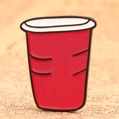 Red Cup Lapel Pins